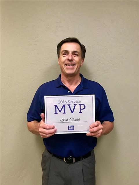 Scott Stramel, 2016 Service MVP
