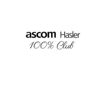 ascom Hasler 100% Club