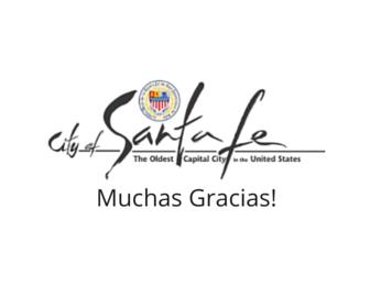 City of Santa Fe - Muchas Gracias