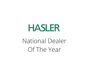 Hasler - National Dealer of the Year