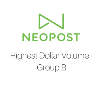 Neopost Highest Dollar Volume - Group B