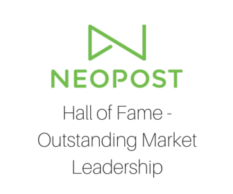 Neopost Hall of Fame - Outstanding Market Leadership
