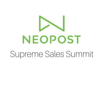 Neopost Supreme Sales Summit