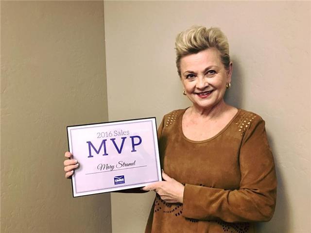 2016 Sales MVP Mary Stramel