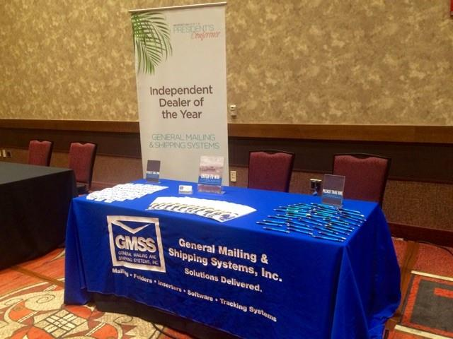 GMSS Inc. booth