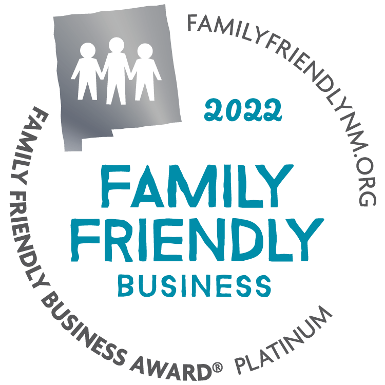 2020 Family Friendly Business NM Award